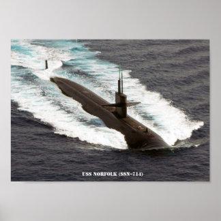 USS NORFOLK POSTER
