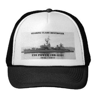 USS Power (DD-839) Hat