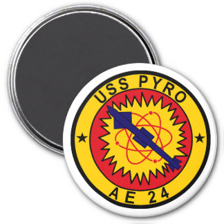 USS Pyro AE-24 Magnet