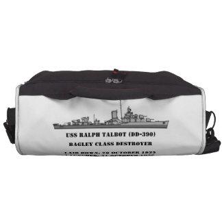 USS Ralph Talbot (DD-390) Laptop Commuter Bag