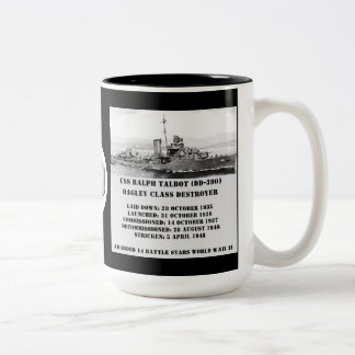 USS Ralph Talbot (DD-390) Coffee Mugs