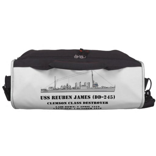 USS Reuben James (DD-245) Laptop Computer Bag