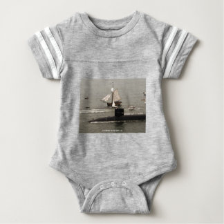 USS RHODE ISLAND BABY BODYSUIT