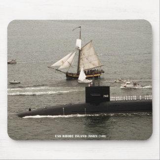 USS RHODE ISLAND MOUSE PAD