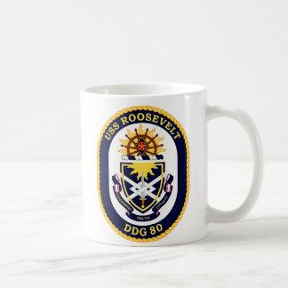 USS Roosevelt DDG-80 Coffee Mug