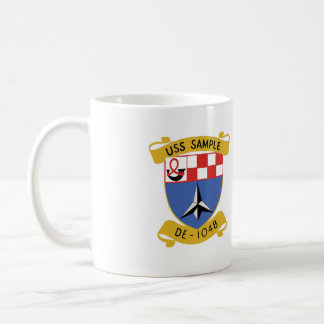 USS SAMPLE (DE-1048) COFFEE MUG