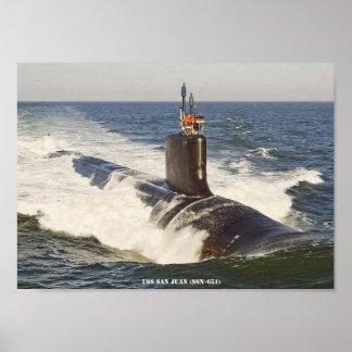 USS SAN JUAN POSTER