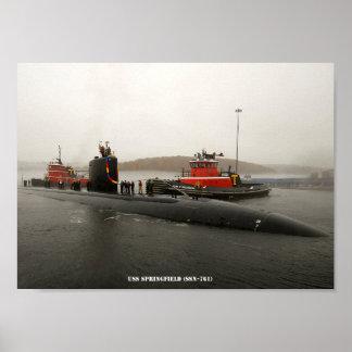 USS SPRINGFIELD POSTER