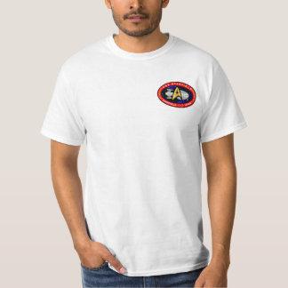USS Starfield fan club official basic t-shirt
