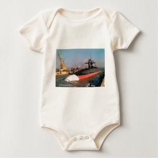 USS STONEWALL JACKSON BABY BODYSUIT