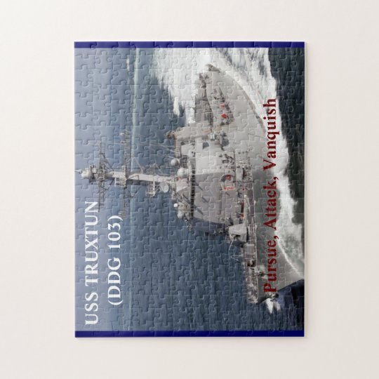 USS TRUXTUN Puzzle