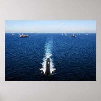 USS Tucson Poster