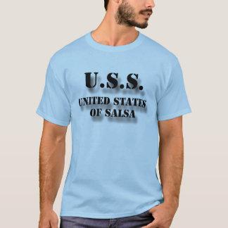 USS United States of Salsa T-Shirt