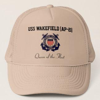 """USS WAKEFIELD (AP-21) """"Queen of the Fleet"""" Trucker Cap"""