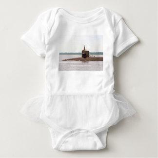 USS WEST VIRGINIA BABY BODYSUIT