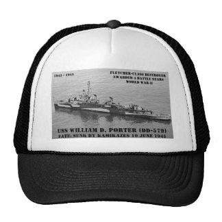 USS William D. Porter (DD-579) Trucker Hat