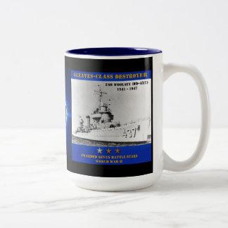 USS Woolsey (DD-437) Coffee Mugs