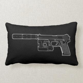 USSOCOM MARK 23 Black Lumbar Pillow