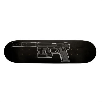 USSOCOM MARK 23 Black Skateboard