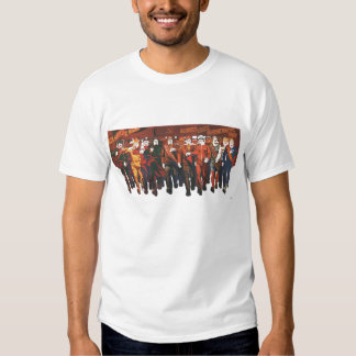 USSR CCCP Cold War Soviet Union Propaganda Posters Tee Shirts