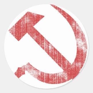 USSR CLASSIC ROUND STICKER
