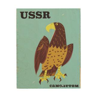 USSR Eagle vintage travel poster