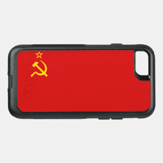 USSR flag OtterBox Commuter iPhone 8/7 Case