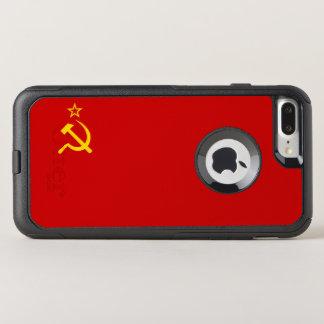 USSR flag OtterBox Commuter iPhone 8 Plus/7 Plus Case