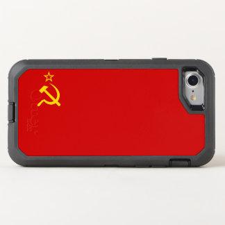 USSR flag OtterBox Defender iPhone 8/7 Case