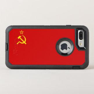 USSR flag OtterBox Defender iPhone 8 Plus/7 Plus Case