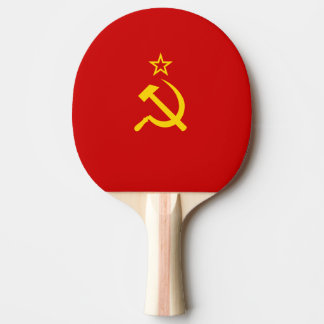 USSR flag Ping Pong Paddle