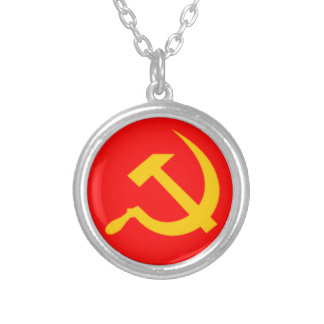 USSR SILVER PLATED NECKLACE