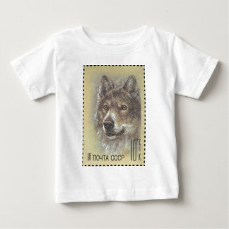 USSR ~ Stamp Russian Wolf Baby T-Shirt