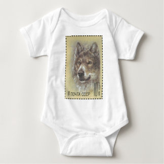 USSR ~ Stamp Russian Wolf Tee Shirts