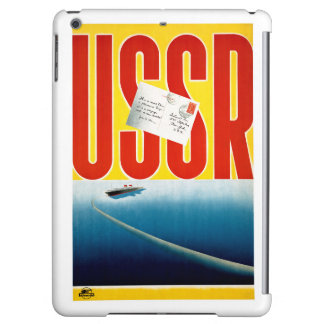USSR Vintage Cruise Travel Poster Restored