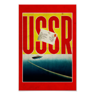 USSR Vintage Travel poster (Enhanced version)
