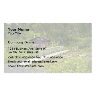 USUganik Lake Recreation Cabin Business Cards