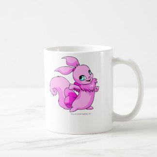 Usul Pink Basic White Mug