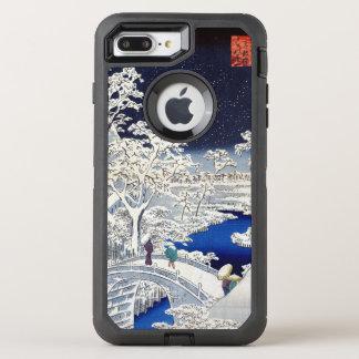 Utagawa Hiroshige Meguro Drum Bridge and Sunset OtterBox Defender iPhone 8 Plus/7 Plus Case