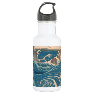 Utagawa Hiroshige Naruto Whirlpool 532 Ml Water Bottle