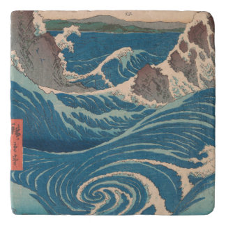 Utagawa Hiroshige Naruto Whirlpool Trivet