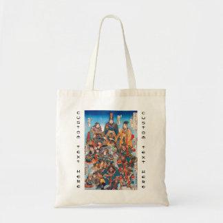 Utagawa Kuniyoshi Legendary Suikoden heroes Budget Tote Bag