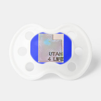 """Utah 4 Life"" State Map Pride Design Dummy"