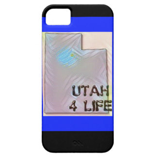 """""""Utah 4 Life"""" State Map Pride Design iPhone 5 Cover"""