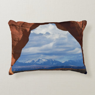 Utah, Arches National Park, Delicate Arch Accent Cushion