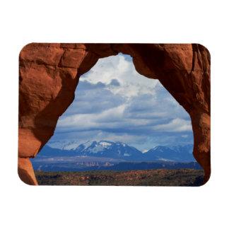Utah, Arches National Park, Delicate Arch Rectangular Photo Magnet