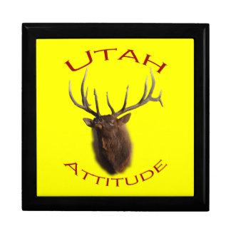 Utah Attitude Large Square Gift Box