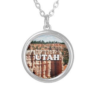 Utah: Bryce Canyon National Park Silver Plated Necklace