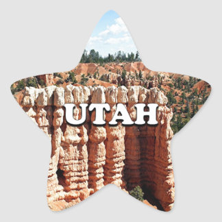 Utah: Bryce Canyon National Park Star Sticker