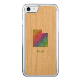 Utah Carved iPhone 8/7 Case